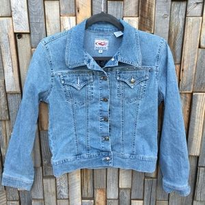 Woman's Roper denim jean jacket size small